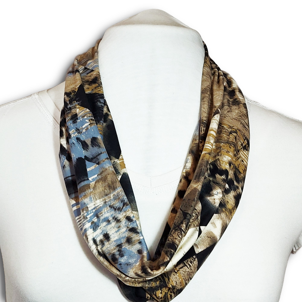 Summer scarf with built in mask
