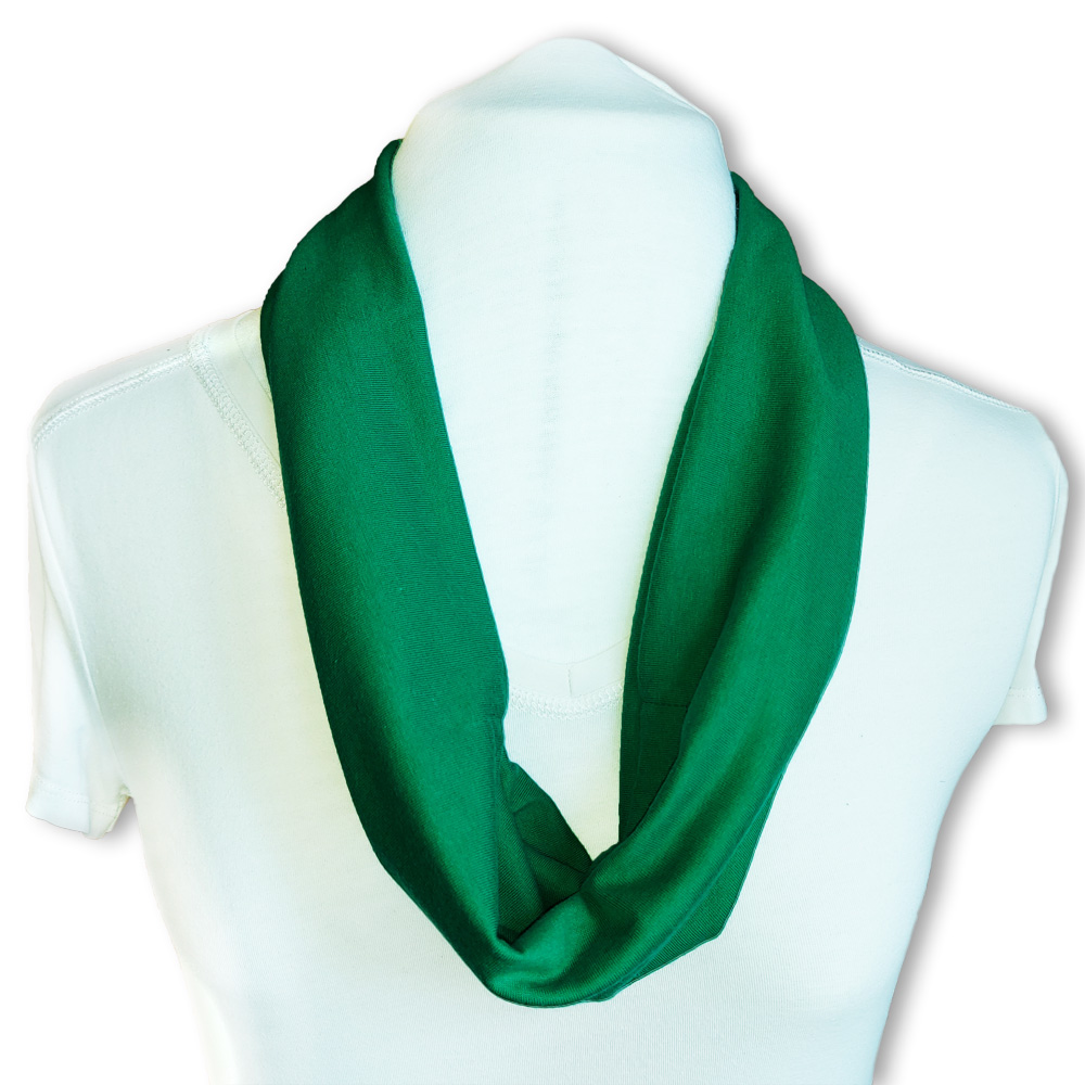 Summer scarf with adjustable built in mask - variety of colours