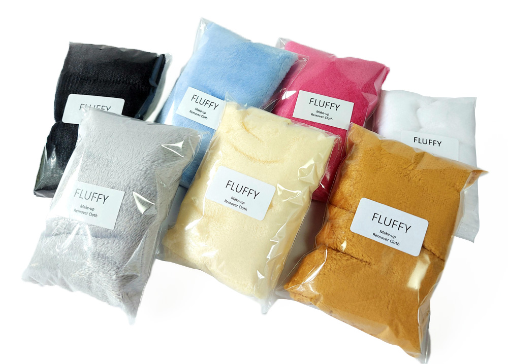 Fluffy Make-up remover cloths